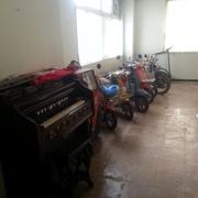 倉庫整理をさせていただきました。